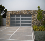 Aluminum Glass Full View Garage Doors